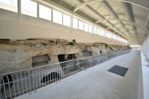 These 4th century Paleochristian catacombs once faced destruction because of roadworks