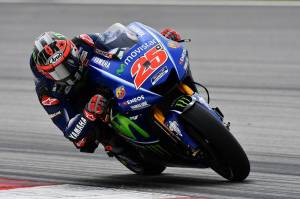 Vinales wins pole at Aragon