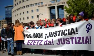 Protests in Spain as five men cleared of raping 18-year-old girl
