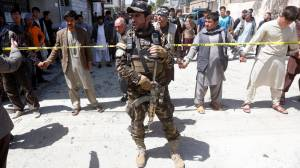 At least 63 dead in bombing at Kabul voter registration centre
