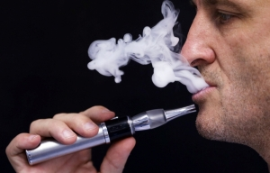 Smoking an electronic cigarette in an enclosed area is not against the law