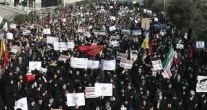 Iran holds pro-government rally after days of protests