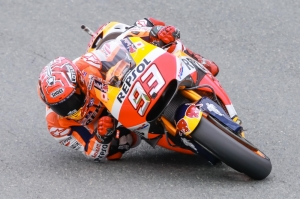 Faultless Marquez takes pole as disaster strikes for Lorenzo