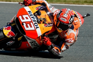 Marquez destroys his own record on way to pole