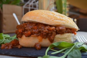 Slow cooker all American sloppy Joes