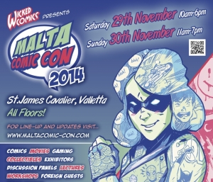 Four more comic book icons at Malta Comic Con