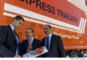 Express Trailers promotes road safety