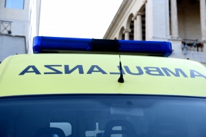 Two Albanian workers sustain serious injuries after fall