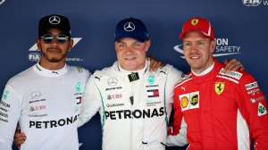 Lewis Hamilton beaten to Russian GP pole by Valtteri Bottas