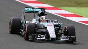 Lewis Hamilton on pole at British Grand Prix