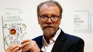 [WATCH] George Saunders wins the Man Booker Prize for 'Lincoln in the Bardo'