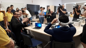 'How are you learning?' Microsoft deploys power of virtual reality in its 21st century classroom