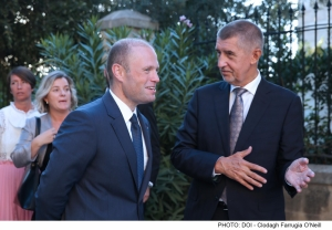 Czech Republic will not accept migrant sharing, Joseph Muscat is told