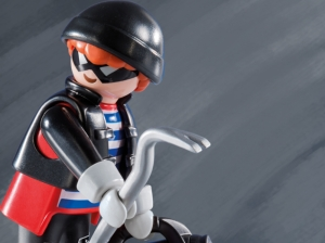 Bail for men charged with Playmobil theft