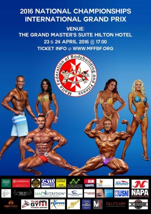 2016 IFBB National Championships & International Grand Prix – Malta