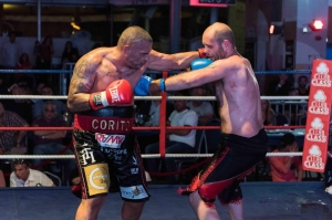 Corito wins fight on points