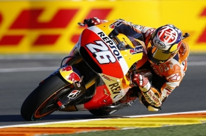 Pedrosa in a class of his own for pole