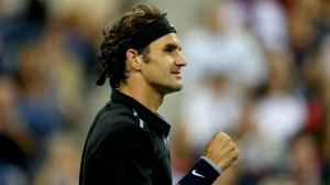 US Open - Federer shines again while Monfils tames Dimitrov