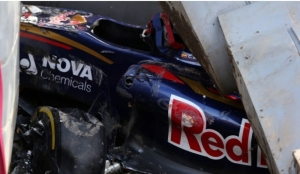Sainz suffers heavy crash, final practice abandoned