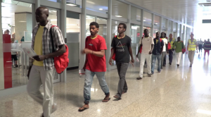 [WATCH] Second group of MV Lifeline migrants transferred to Luxembourg