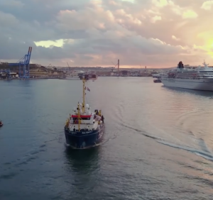 [WATCH] Sea-Watch rescue ship leaves Malta after being blocked for three months