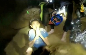[WATCH] Thailand: New video shows trapped boys in good health as they await rescue