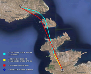 Pillaging the land for the Gozo tunnel