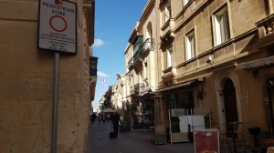 Nine Valletta squares and several streets are pedestrianised