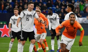 UEFA Nations League: Virgil van Dijk consoles official after Germany draw