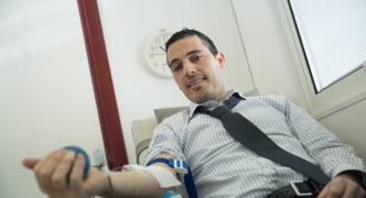 Banif staff blood drive gives most precious donation of all