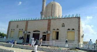 Egyptian military in 'terrorist' targets air strike following deadly mosque attack