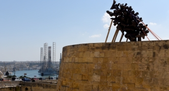 Prime Minister inaugurates 'eternal flame' monument at Castille