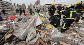 [WATCH] Two dead and dozens injured in China port explosion