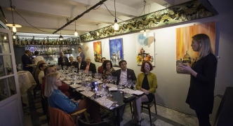 Champagne Bollinger expert delivers masterclass at Casa Ellul