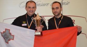 Alex Borg and Duncan Bezzina to represent Malta in the Snooker World Cup