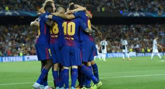 UEFA Champions League Results | Barcelona 3 – Juventus 0