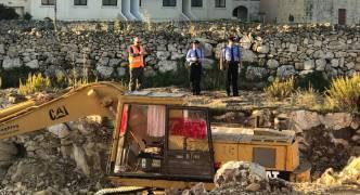 'PA Mafia': Construction equipment on controversial Mosta site vandalised overnight