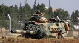 Turkey deploys 80 military vehicles near Syrian border