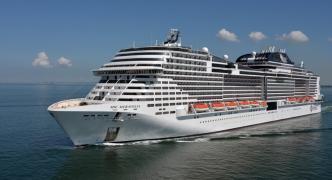MSC Meraviglia sails into Malta