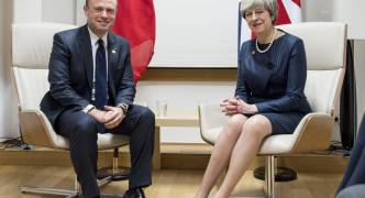 Malta to keep best of relations with UK, Muscat tells May