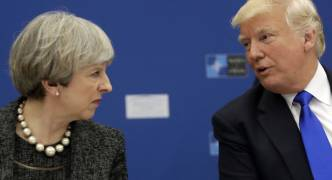 [WATCH] Theresa May: we are not afraid to criticise Trump
