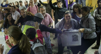 [WATCH] Spanish police injure 337 as Catalans defy government ban on referendum