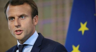 French president Macron promises tough talk at first Putin meeting