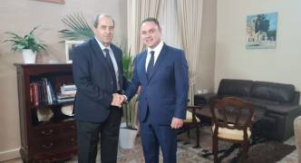 Owen Bonnici and AG Peter Grech meet Di Pietro behind closed doors