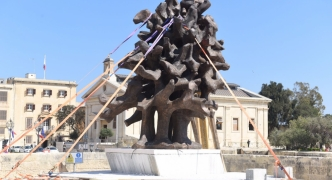 'Flame' monument at Castille costs taxpayers €112,000