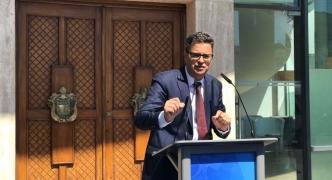 [WATCH] PN leadership hopeful Adrian Delia pledges 'a new way' and 'open doors'