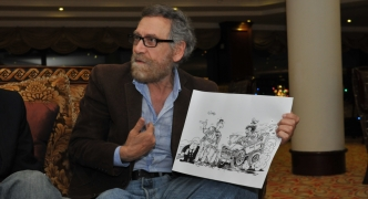 [WATCH] The cartoonist who broke the barriers of fear