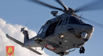 Corpse found in the sea in Anchor Bay lifted by helicopter