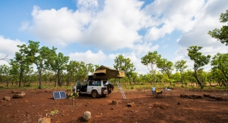 Exploring aboriginal land in Arnhem Land, Northern Australia