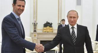 Syria's Assad meets with Putin to discuss 'joint work in fighting terrorism'